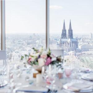 Köln Sky, Köln Hochzeit, Standesamt Köln, standesamtlich heiraten in Köln, Ambiente Trauung Köln, heiraten in Köln
