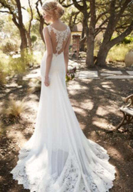 Braut, Brautkleid, Rückenauschnitt, SpitzeEssense of Australia Style D2136