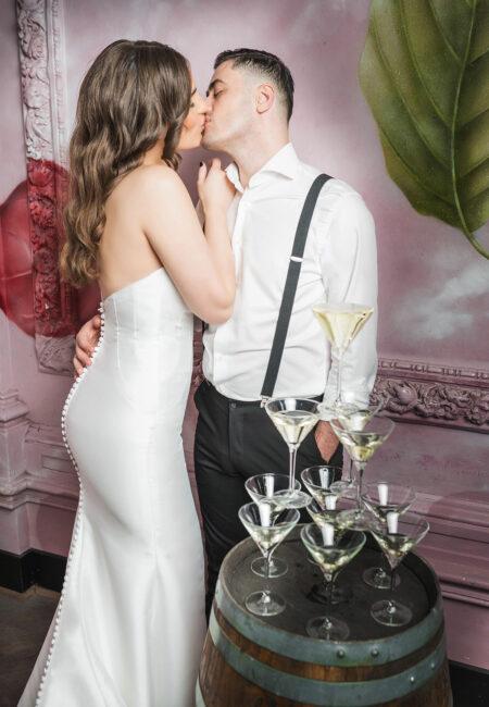 Justin Alexander Kleid, Brautmode, Kleider, Brautpaar
