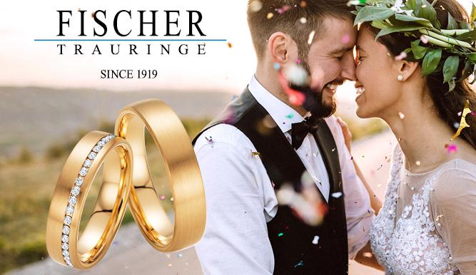 Fischer Trauringe, Trauringe, Eheringe, Juwelier, Hochzeitsschmuck