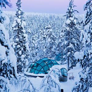 Schneeiglu, Eis, Winterlandschaft, Natur, Finnland